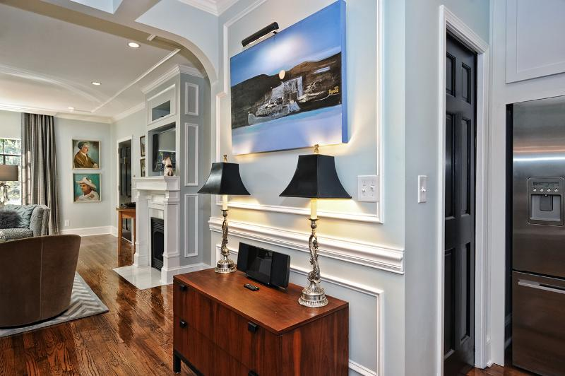 Art-filled Executive Home 1 Mile from Uptown - Image 1 - Charlotte - rentals