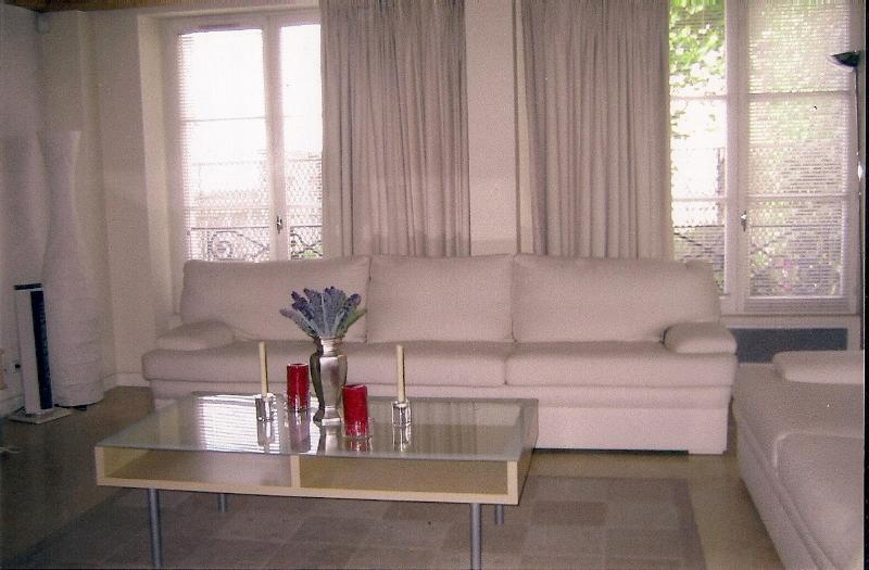 ILE SAINT LOUIS  large one bedroom apt. w/elevator - Image 1 - Paris - rentals