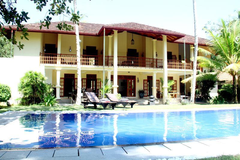 Suhada Villa - poolside view - Suhada Villa - Bentota (Sri Lanka) - Bentota - rentals