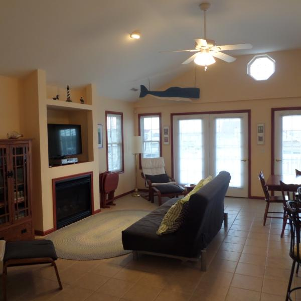 Living Room - Close To Beach, Boardwalk And Rides With 2 Outdoor - Ocean City - rentals