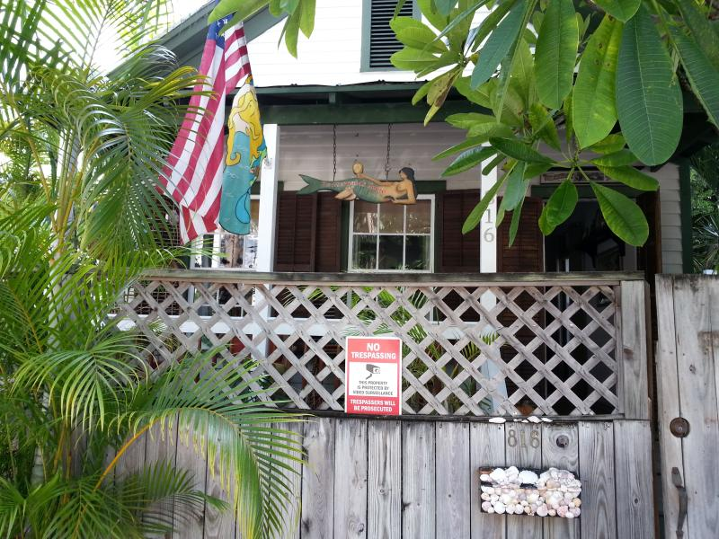 Street view of house. - The Mermaids House, Old Town Key West - Key West - rentals