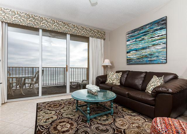The most perfect view from this upgraded 5th floor unit. - GD 514: OH MY! BEST one bedroom AT THE GULF DUNES HANDS DOWN! - Fort Walton Beach - rentals