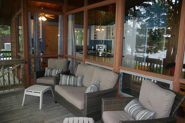 Front Porch - Child Friendly 3 Bedroom on Lower Buckhorn Lake - Buckhorn - rentals