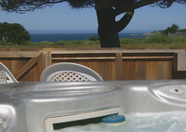 Hot tub and view - Anam Cara - Anam Cara - World - rentals