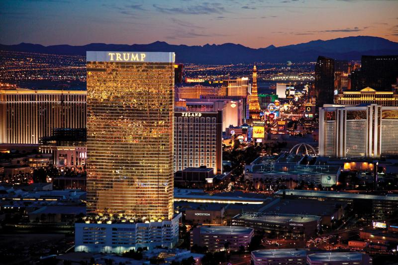 STUNNING VIEWS OF THE LAS VEGAS BOULEVARD FROM YOUR SUITE!! - TRUMP 51st Floor 1BR Corner Suite with Strip View - Las Vegas - rentals