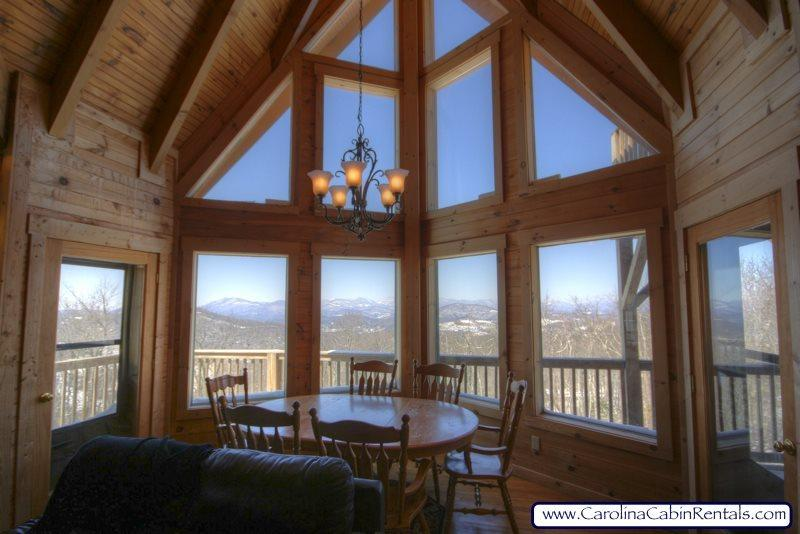 Summit Park View from Living and Dining Room and Kitchen - Summit Park - Blowing Rock - rentals