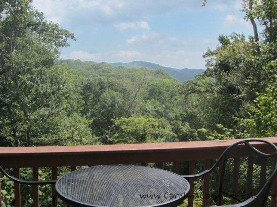 Beautiful long range views from deck and inside The High Life - The High Life - Blowing Rock - rentals