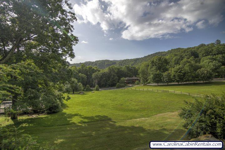 View From Deck - Back Behind at Yonahlossee - Boone - rentals