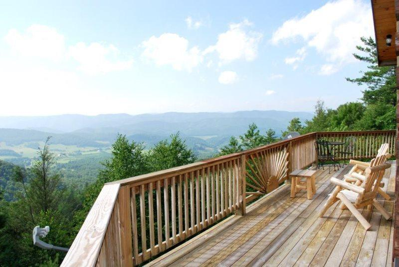 Cloud 9 View From Hot Tub - Cloud 9 - Boone - rentals