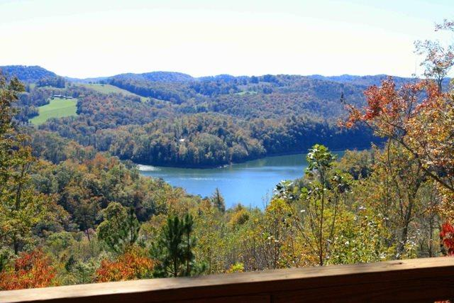 Fall Views - Vista Lael Lodge is a gorgeous vacation cabin with views of Norris Lake surrounded by forest. - New Tazewell - rentals