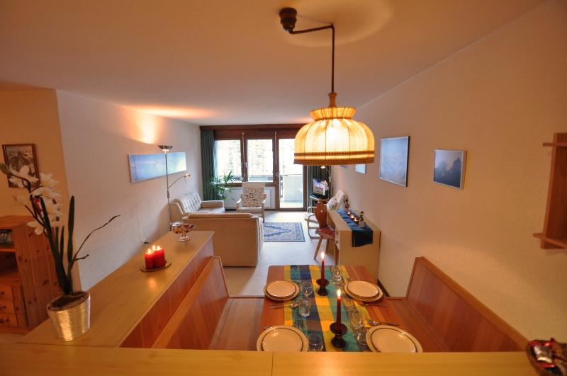 Living/Dining - Haus Wichje, Apartment  Lady Harvington - Zermatt - rentals