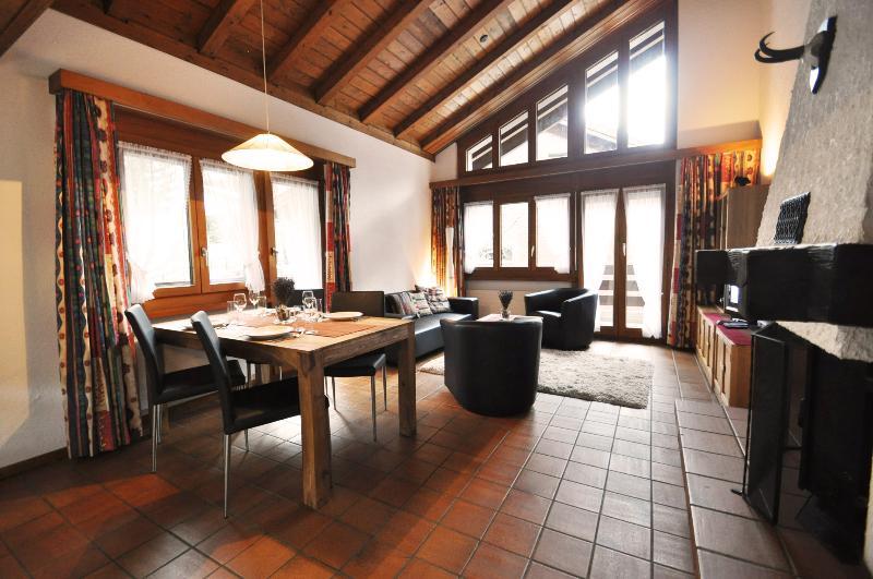 Living/Dining - Apartment  Ivar - Zermatt - rentals