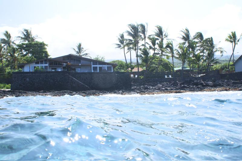 Your own private beach-front - Beautiful Oceanfront Kona Home- Private Beachfront - Kailua-Kona - rentals