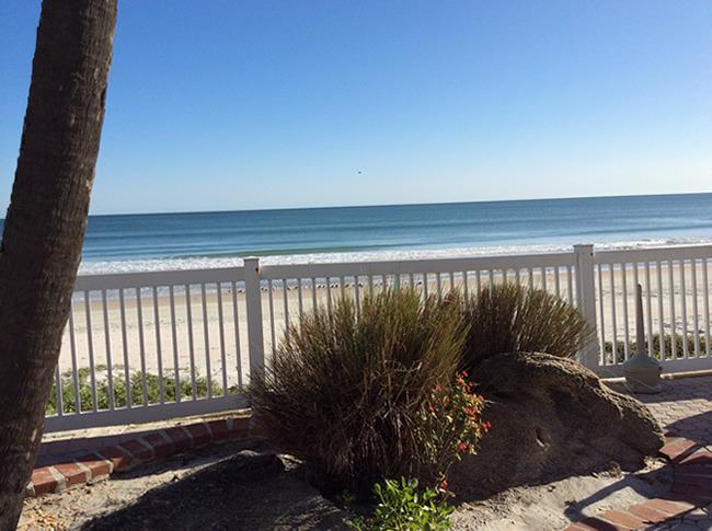 view from deck - Maverick Ormond Beach Daytona Florida Oceanfront 4 - Ormond Beach - rentals