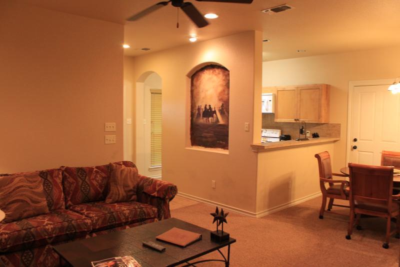 Living Room - Flying L Guest Ranch - Bandera - rentals