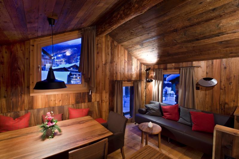 Living/Dining - Chalet Z'Gogwärgji - Zermatt - rentals
