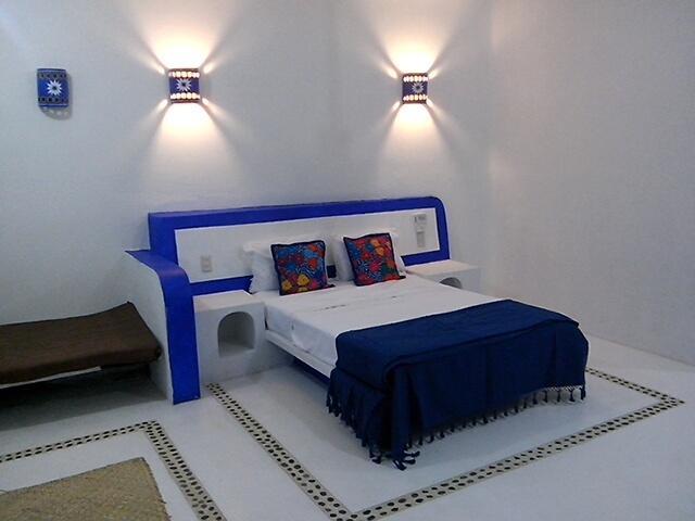 Double bed Bungalow Heaven - Bugalows Mazunte Tierra Viva, comfortable,with scr - Mazunte - rentals