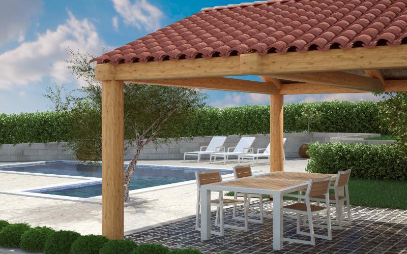 Apartmani Mirna 4* new pool - Image 1 - Pula - rentals
