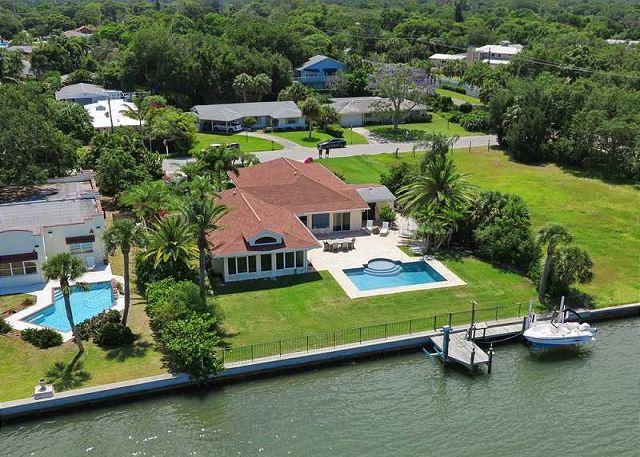 Spacious Sarasota Water Front Pool Home W/ Dock - Image 1 - Sarasota - rentals