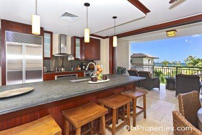 Kitchen With View - Beach Villas OT-404 - Kapolei - rentals