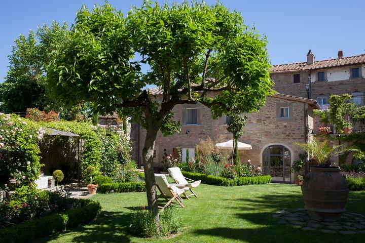 Mary Rose, gorgeous 13th century hilltop villa surrounded by an unique flower garden. - Image 1 - Cortona - rentals