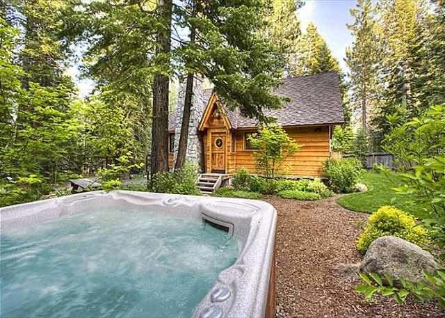 Hot Tub - Sunnyside Cottage - Romantic, Pet-friendly w/ Hot Tub - 50% off 3rd nt in APR - Tahoe City - rentals