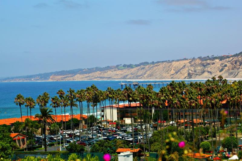 Amazing views from the sweeping patio. - Pacific View - La Jolla - rentals