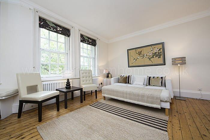 Beautiful apartment in mansion block with river view- Chelsea - Image 1 - London - rentals