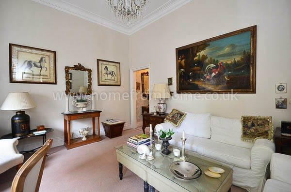Country manor styled 1 bedroom apartment- Chelsea Embankment - Image 1 - London - rentals