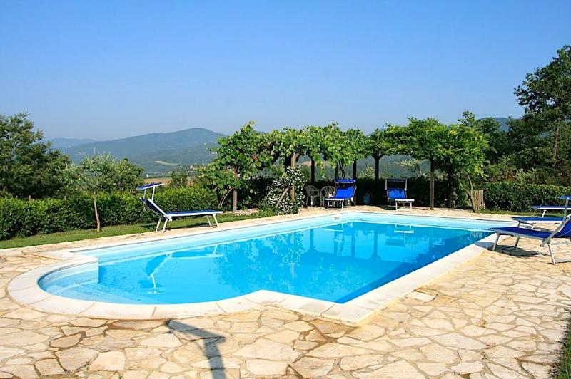 Swimming pool - Ca di Bracco warmest outdoor pool in Umbria - Umbertide - rentals