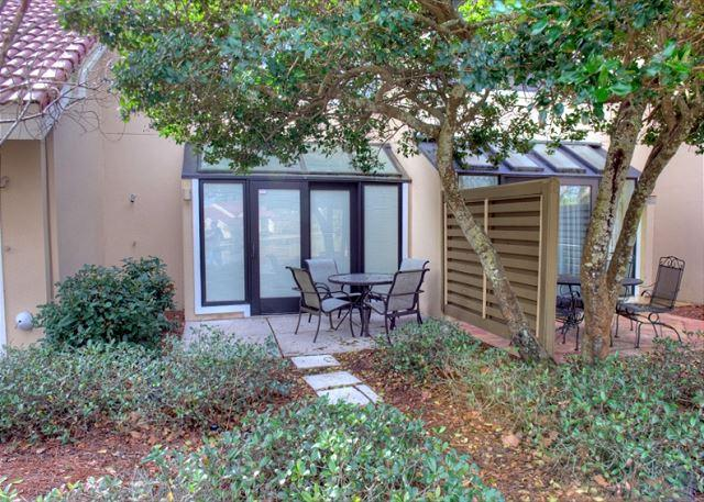 Patio over looking the lake - Newly updated unit.  Now taking shorter stays ! - Sandestin - rentals