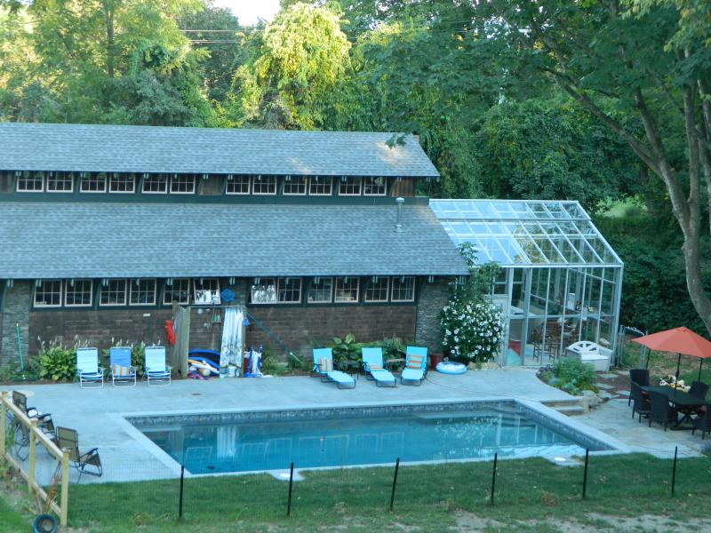Inground pool area - Beach Vacation Home sleeps 7 and close to Newport - Middletown - rentals