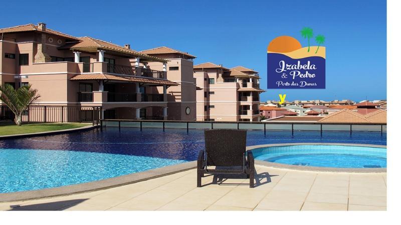 """Piscinas com vistas à praia - Apartamento IZABELA&PEDRO,  Luxo  near """"Beach Park - Aquiraz - rentals"""