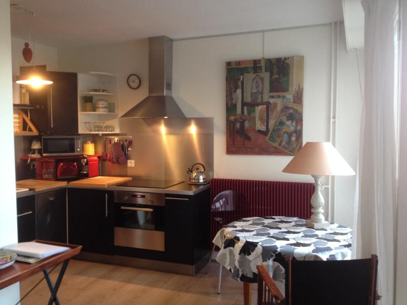 Kitchen. - Large_well-appointed_studio_for 3_near Bastille - Paris - rentals