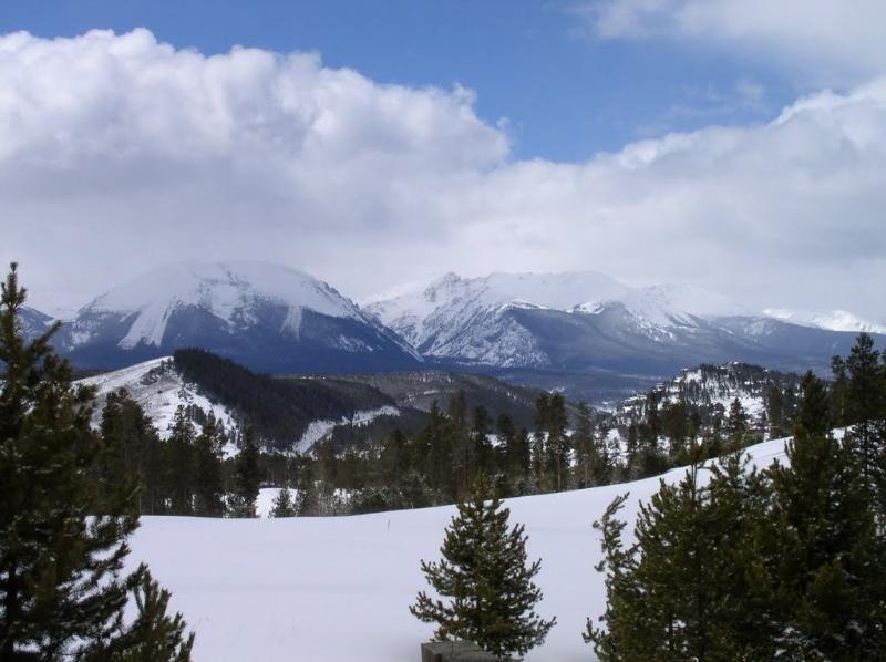 View of Buffalo Mountain - SPRING TIME IN The GORGEOUS ROCKIES!!! - Silverthorne - rentals