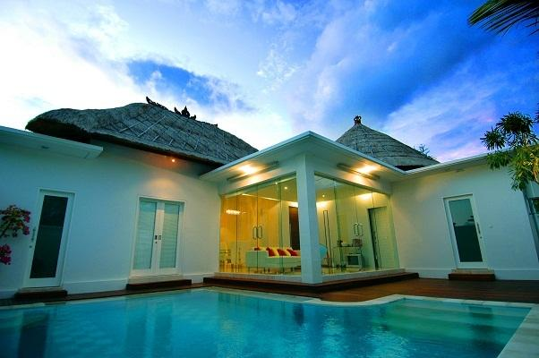 Over view from swimming pool - Relaxing 2 bedroom private pool villa in paradise - Denpasar - rentals