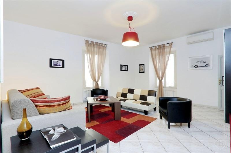 Living Room  / Third Bedroom - FANTASTIC  SUMMER IN ROME: up to 20%off! mok'house - Rome - rentals