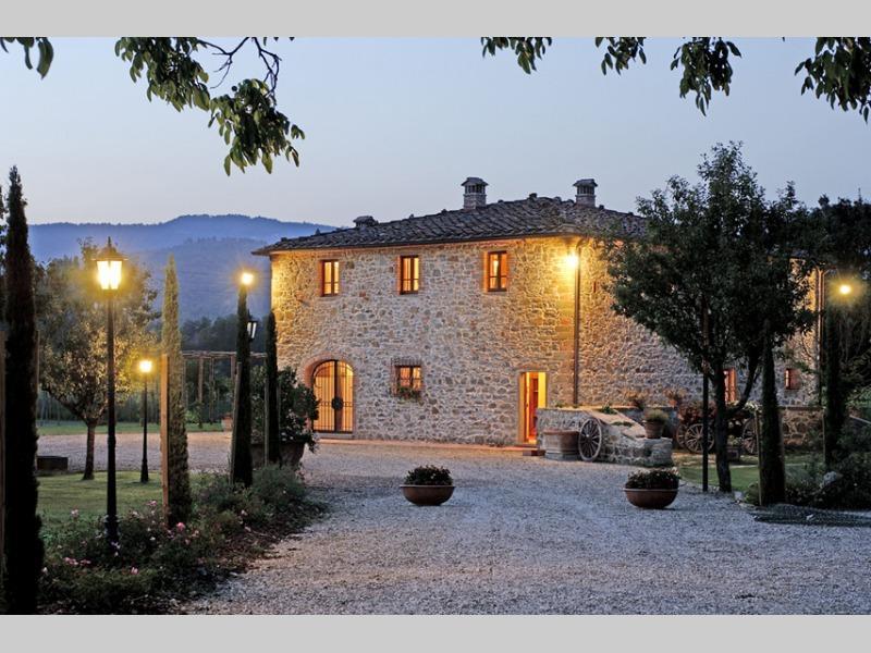 Podere Chianti, elegant Villa in the true Chianti. - Image 1 - Montevarchi - rentals