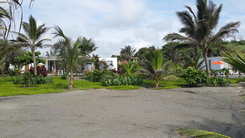 Private beach and gardens - Beach Front House In Manabi - Pedernales - rentals