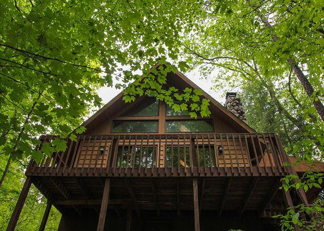 Secluded Cozy Hocking Hills Cabin With Loft - Image 1 - South Bloomingville - rentals