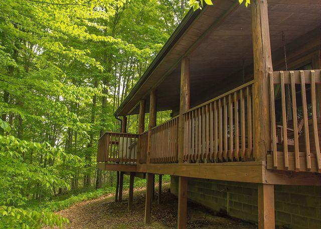 Great Log Home For Get Togethers - Image 1 - South Bloomingville - rentals