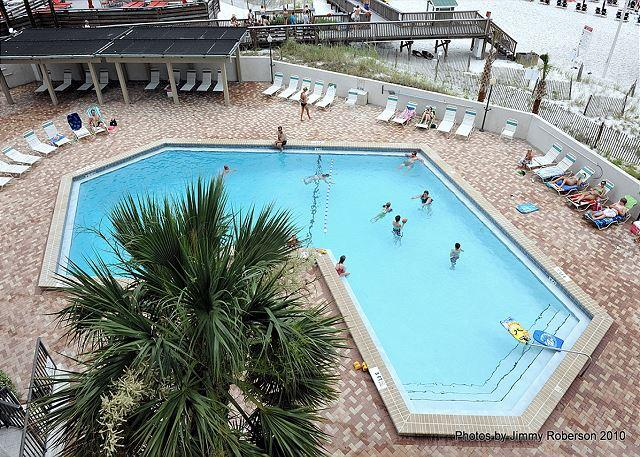View from the Wrap-Around Balcony - Oceanfront 3-Bedroom, Beachside Condo Available for July 4th! - Sandestin - rentals