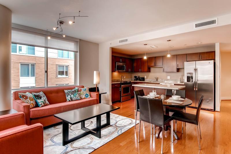 Living room - Lux 2BR Apt Near Georgetown - Washington DC - rentals