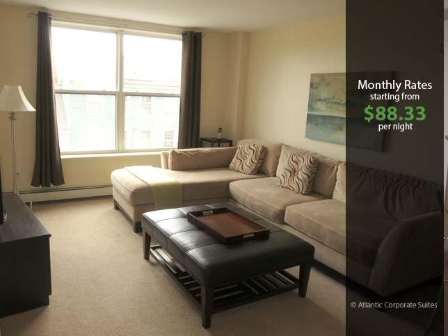 Living Room - Modern Suite in  Downtown Core - Halifax - rentals