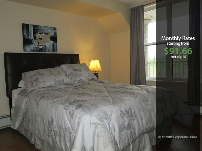 Bedroom - Corner Suite with Citadel View - Halifax - rentals