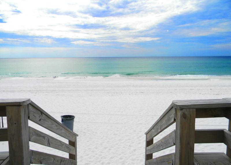 Nautilus 1101 - Book Online! GROUND Floor BeachFront 3BR/2.5BAon Okaloosa Island! Available March 18 - Image 1 - Fort Walton Beach - rentals