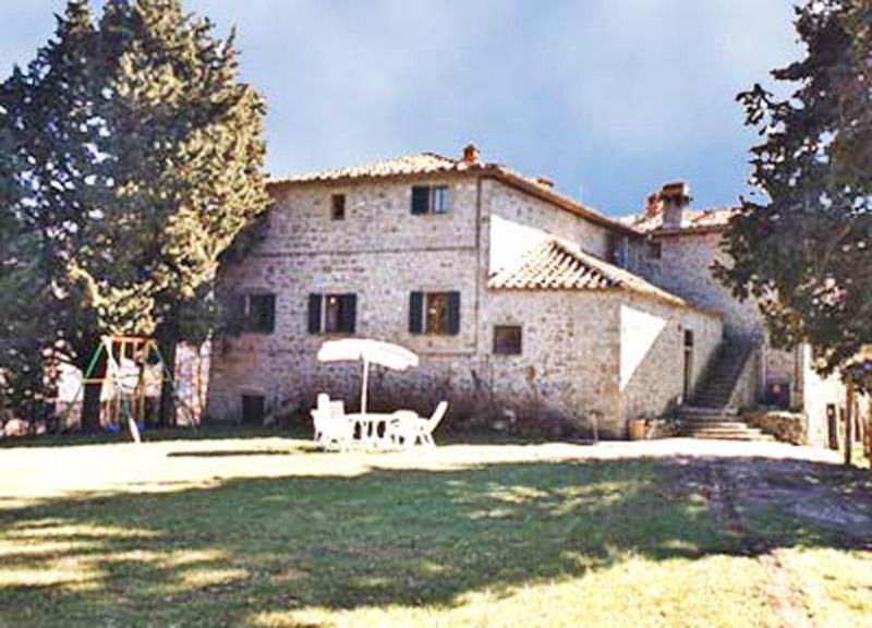 Front view of the Villa del Barone - Villa del Barone - Londa - rentals