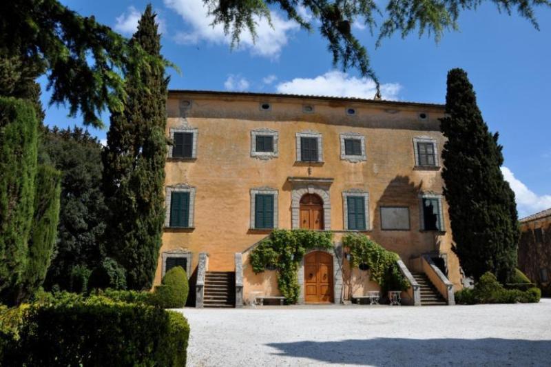 Front view of the villa - Villa Magestic - Volterra - rentals