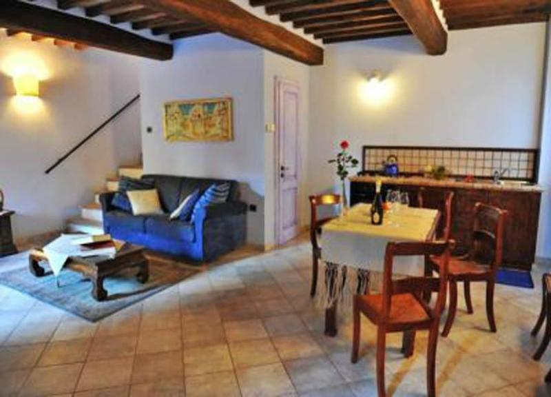 View of the dining table in Apartment Serafina - Apartment Serafina - Sansepolcro - rentals