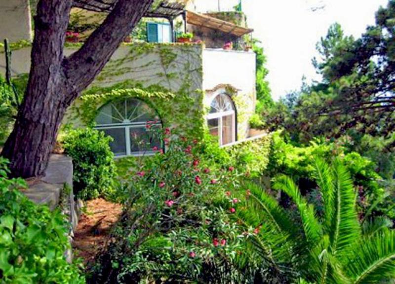 Beautiful garden in Villa Arabella - Villa Arabella - Amalfi - rentals